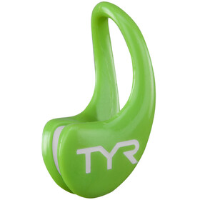 TYR Ergo Swimclip electric lime